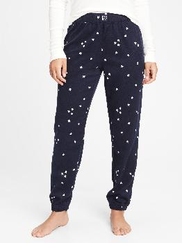 Flannel Joggers Gap Factory