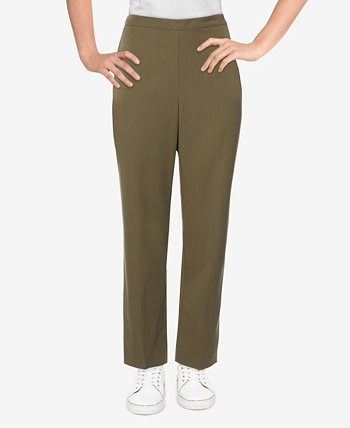 Plus Size San Antonio Twill Medium Length Pants Alfred Dunner