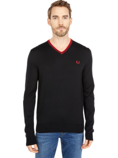 Classic V-Neck Jumper Fred Perry