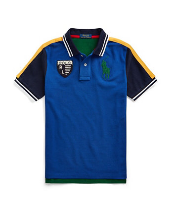 Toddler Boys Color-Blocked Mesh Polo T-shirt Ralph Lauren