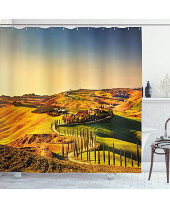 Italy Shower Curtain Ambesonne