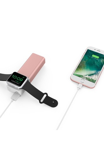 Розовое золото Apple Watch Power Bank ELEMENT WORKS