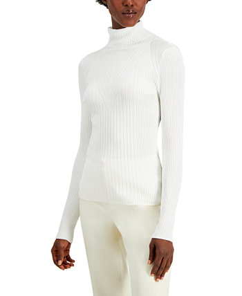 INC Ribbed Turtleneck Sweater, Created for Macy's INC International Concepts
