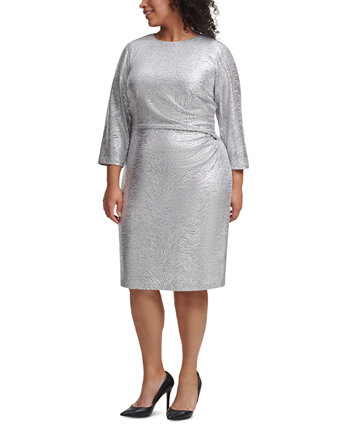 Plus Size Silver Bodycon Dress Vince Camuto