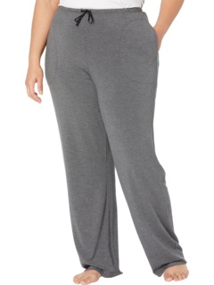 Plus Size Modal Spandex Jersey Long Pants Donna Karan