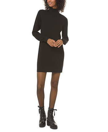 Mock-Neck Sweater Dress Michael Kors