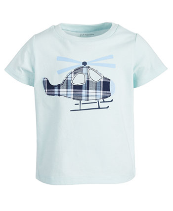 Toddler Boys Helicopter Cotton T-Shirt, Created for Macy's First Impressions