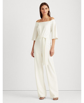 Off-the-Shoulder Jumpsuit Ralph Lauren