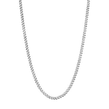 Classic Chain Sterling Silver Curb Link Necklace JOHN HARDY