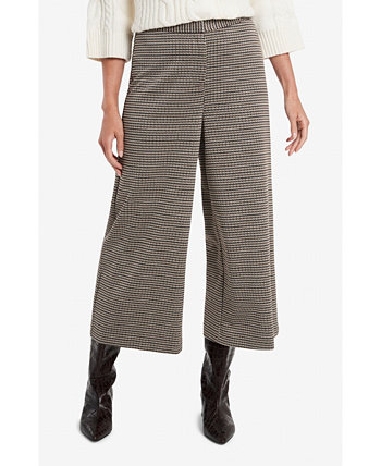 Women's Wide Leg Heritage Check Pant Vince Camuto