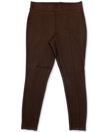 Plus Size Seamed Ponté-Knit Leggings, Created for Macy's Style & Co