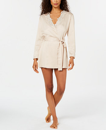 Stella Lace-Trim Wrap Robe Flora Nikrooz Collection