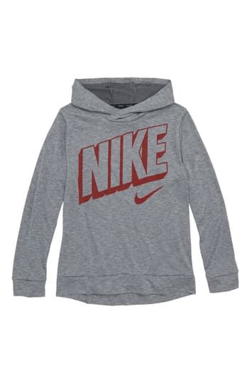 Breathe Long Sleeve Dry Pullover Hoodie  (Little Boys & Big Boys) Nike