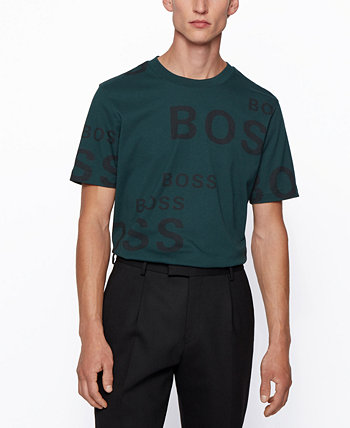 BOSS Men's Tiburt Regular-Fit T-Shirt BOSS Hugo Boss