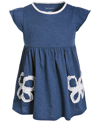 Baby Girls Ruched Butterfly Tunic, Created for Macy's First Impressions