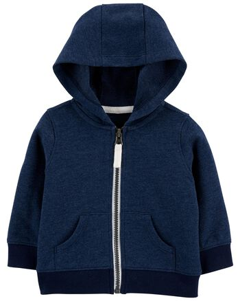 Carter's Zip-Up French Terry Hoodie Carters