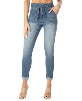 Juniors' Double-Rolled Super High-Rise Skinny Jeans Almost Famous
