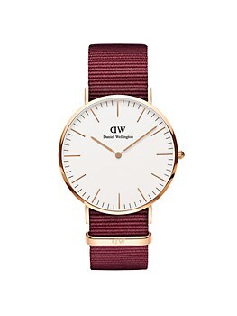 Classic Roselyn Stainless Steel & NATO-Strap Watch Daniel Wellington