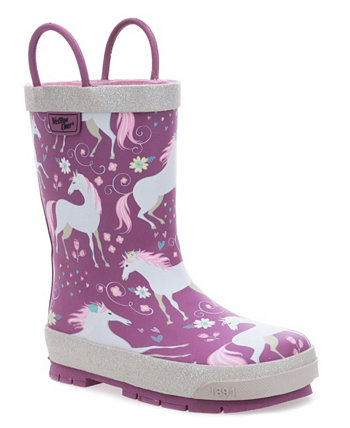 Toddler's, Little Kid's, and Big Kid's Fancy Horse Rain Boot Western Chief