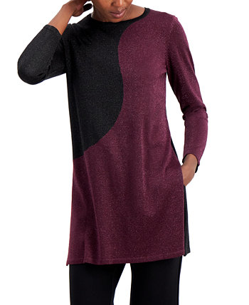 Colorblock Tunic Sweater, Created for Macy's Alfani