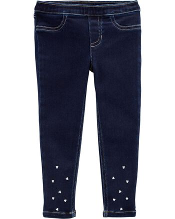 Carter's Rhinestone Pull-On Jeggings Carters