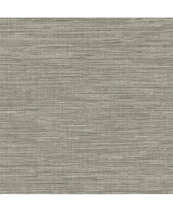 """Exhale Faux Grasscloth Wallpaper - 396"""" x 20.5"""" x 0.025"""" Brewster Home Fashions"""