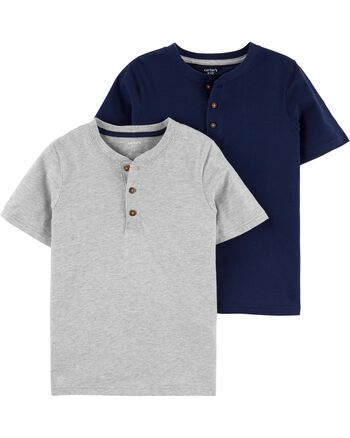 Carter's 2-Pack Henley Tees Carters