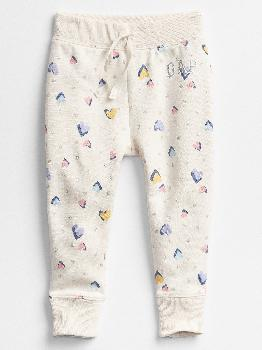 Toddler Heart Print Pull-On Pants Gap Factory