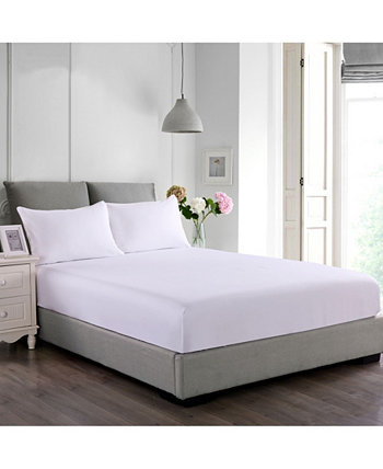 Cotton Water and Stain Resistant Mattress Protector Lotus Home