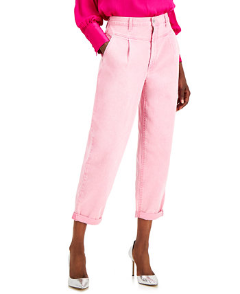 INC Millicent Pink Wide-Leg Jeans, Created for Macy's INC International Concepts