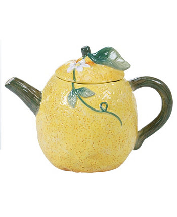 Citron 3-D Lemon Teapot Certified International