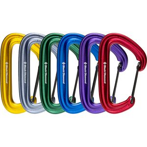 Black Diamond LiteWire Carabiner Rackpack Black Diamond