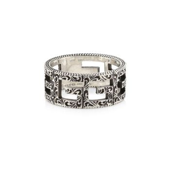 G-Cube Sterling Silver Cigar Band GUCCI