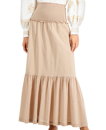 INC Smocked Tiered Maxi Skirt, Created for Macy's INC International Concepts