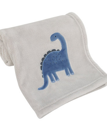 Dino Adventure Super Soft Coral Fleece Baby Blanket Carters