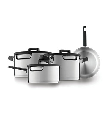Gem Cookware Set with Downdraft Handles, 7 Pieces BergHOFF