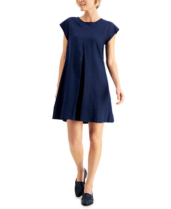 Petite Bow-Back A-Line Dress, Created for Macy's Charter Club