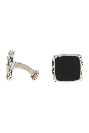 Chain Embossed Trimmed Cuff Links JOHN HARDY