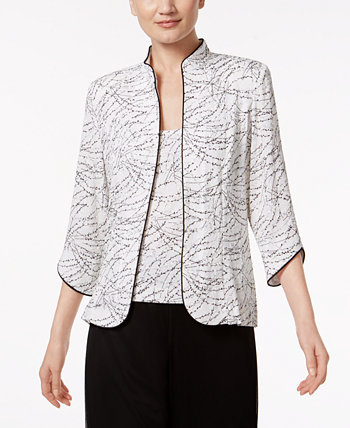 Petite Jacket and Top Set Alex Evenings