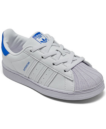 Toddler Boys Superstar Sneakers from Finish Line Adidas