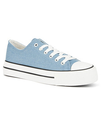 Women's Santa Manza Lace up Sneakers OLIVIA MILLER