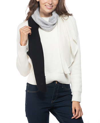 Cashmere Colorblocked Muffler Scarf, Created for Macy's Charter Club