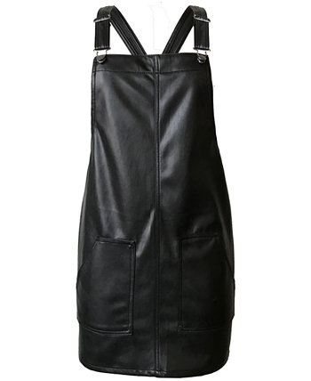 Juniors' Faux-Leather Skirtall Tinseltown