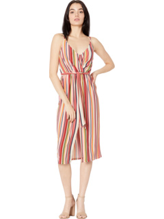 Cocktail Wrap Pleated Tied Knit Dress B1SX5D09 BCBGeneration