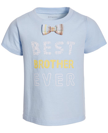Baby Boys Bowtie Cotton T-Shirt, Created for Macy's First Impressions