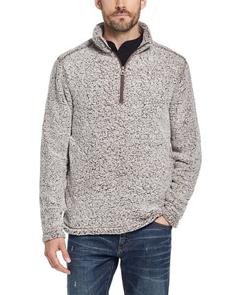 Men's Frosted Sherpa 1/4 Zip Weatherproof Vintage