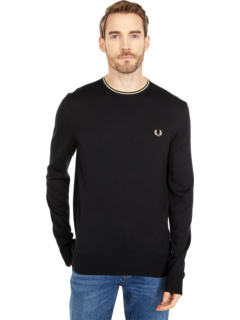 Classic Crew Neck Jumper Fred Perry