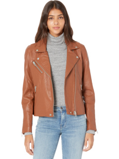 Vegan Leather Moto Jacket Blank NYC
