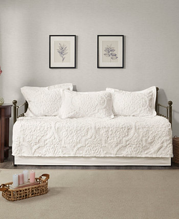Viola 5 Piece Tufted Cotton Chenille Daybed Set Madison Park