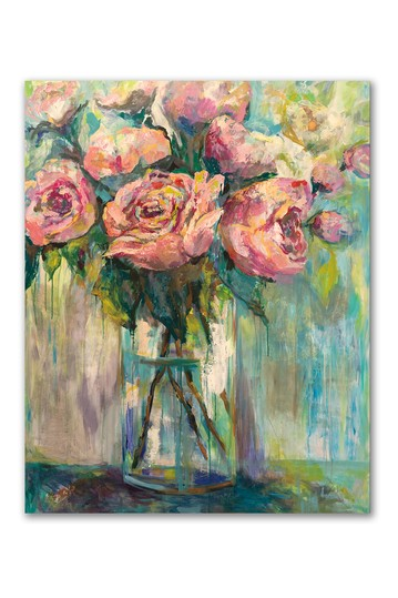 Peony Play Gallery Wrapped Canvas Wall Art Courtside Market